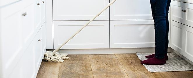 onderhoud van pvc vloer